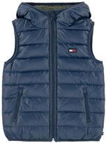 Tommy Hilfiger Reversible sleeveless padded jacket