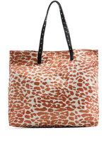 TOUCH - Leopard print shopper handbag