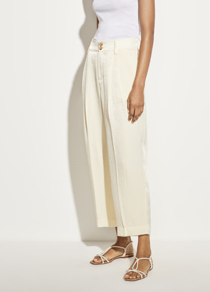Vince Satin Tapered Culotte