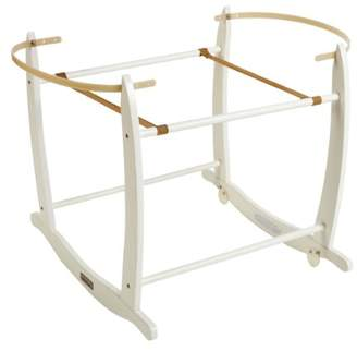Clair De Lune Deluxe Rocking Moses Basket Stand