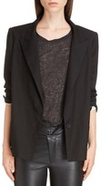 Isabel Marant Women's Riane Stretch Linen Blend Blazer