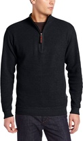 Woolrich Men's Bromley Half Zip Sweater