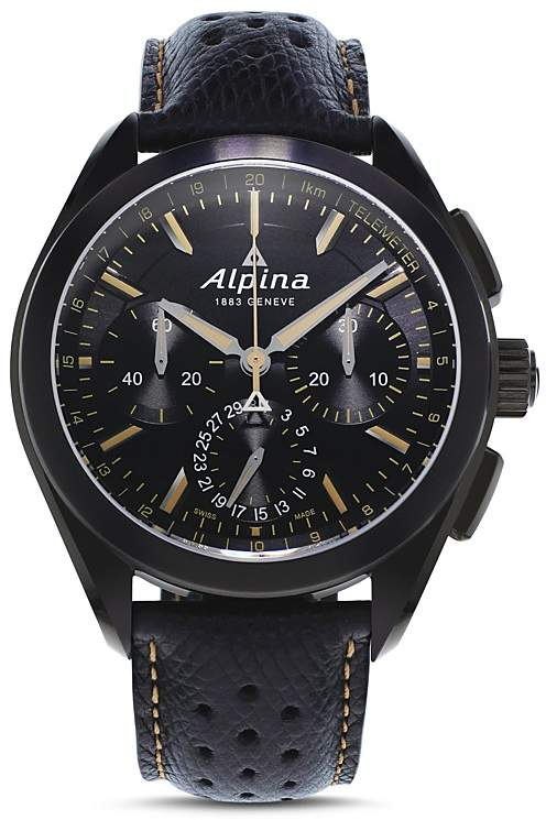 Alpina Alpiner 4 Manufacture Flyback Chronograph, 44mm