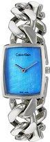 Calvin Klein Women's 'Amaze' Swiss Quartz Stainless Steel Automatic Watch, Color:Silver-Toned (Model: K5D2M12N)