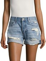 Lucky Brand Distressed Cotton Shorts