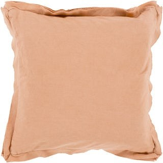 Overstock Decorative Buckingham 22-inch Poly or Feather Down Filled Throw Pillow