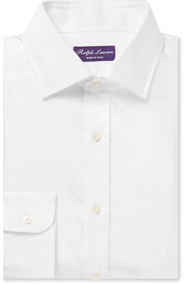 Ralph Lauren Purple Label Cotton And Silk-Blend Shirt