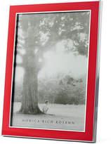 Monica Rich Kosann Silver Plate & Enamel Picture Frame