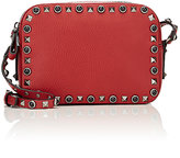 Valentino Women's Rockstud Rolling Crossbody Bag-RED