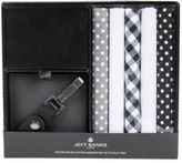 Jeff Banks NEW Handkerchief Gift Pack Black