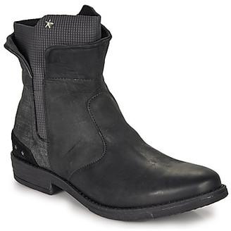 Ikks PAMELA girls's Mid Boots in Black