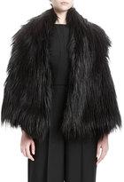 Stella McCartney Lynn Faux-Fur Vest, Black