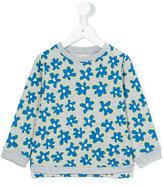 Stella McCartney floral print sweatshirt - kids - Cotton - 2 yrs