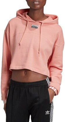 adidas R.Y.V. Cropped French Terry Hoodie