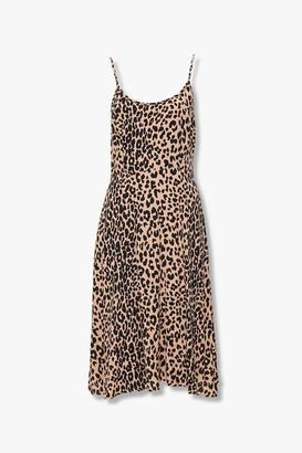 Forever 21 Leopard Print Cami Dress