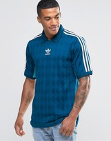 adidas T-Shirt Jersey In Vintage Style AJ7865