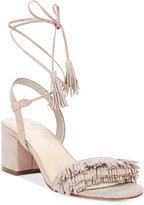 Callisto Melz Lace-Up Block-Heel Dress Sandals