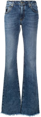 John Richmond Denim Flared Jeans