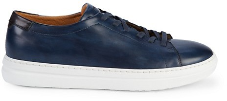 Magnanni Leather Sneakers - ShopStyle