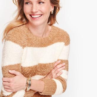 Talbots Ultra Plush Stripe Sweater