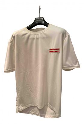 Prada White Polyester T-shirts