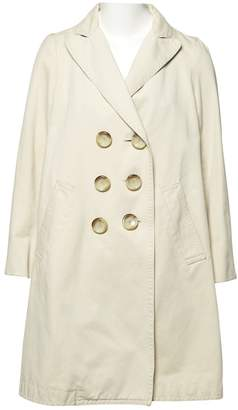 Marc by Marc Jacobs Ecru Cotton Trench coats