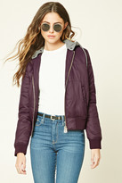 Forever 21 FOREVER 21+ Hooded Puffer Jacket