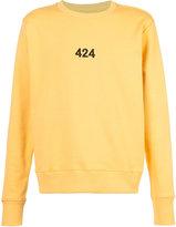 424 Fairfax Alias crewneck sweatshirt