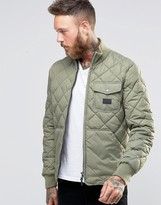 Lee Quilted Jacket Lichen Green