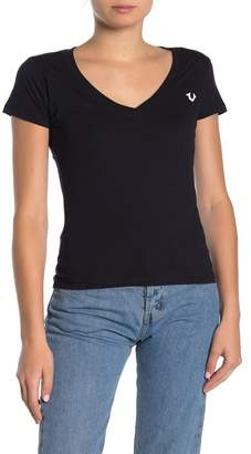 True Religion Short Sleeve V-neck T-Shirt