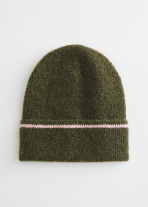 And other stories Striped Wool Blend Beanie