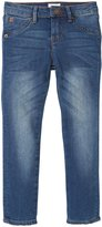 Hudson Collin Skinny Jeans (Toddler/Kid) - Blue Collar-3T