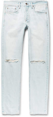 Rag & Bone Fit 2 Slim-Fit Distressed Denim Jeans