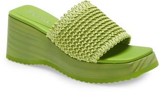 Jeffrey Campbell Dipsey Platform Wedge Sandal