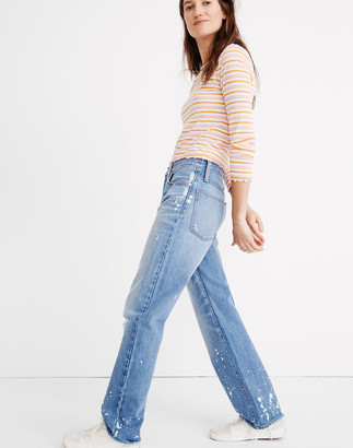 Madewell The Dadjean: Bleached Edition