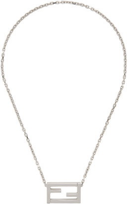 Fendi Silver Forever Necklace