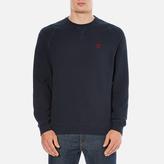 Barbour Heritage Men's Standards Sweatshirt Navy