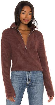 LPA Lesley Half Zip Sweater