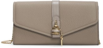 Chloé Aby Leather Wallet-On-Chain