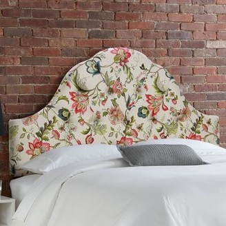 Bungalow Rose Fitchburg Upholstered Panel Headboard Size: California King