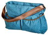 Trend Lab Crinkle Tote Diaper Bag in Blue