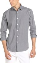 Theory Men's Sylvain Amicable Long Sleeve Gingham Button-Down Shirt