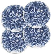 Caskata Set of 4 Peony Blue Canapes