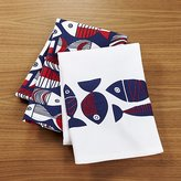 Crate & Barrel Shore Dish Towels, Set of 2
