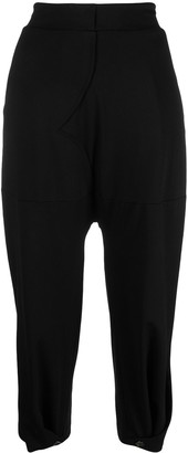 stagni 47 Piped-Trim Cropped Trousers