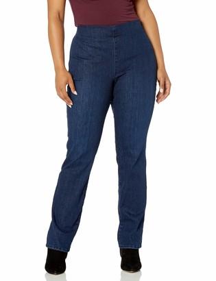 NYDJ Women's Plus Size Pull ON Marilyn Straight Leg Jeans