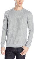 Sovereign Code Men's Colten - Chevron Quilted Crewneck