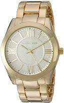 Geoffrey Beene Men's GB8071GDSL Analog Display Japanese Quartz Gold Watch