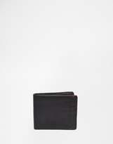 Tommy Hilfiger Tiago Mini Cc Leather Billfold Wallet - Black