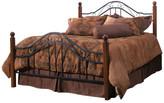 Hillsdale Furniture Madison Bed Set, Full w/ Rails, Textured Black